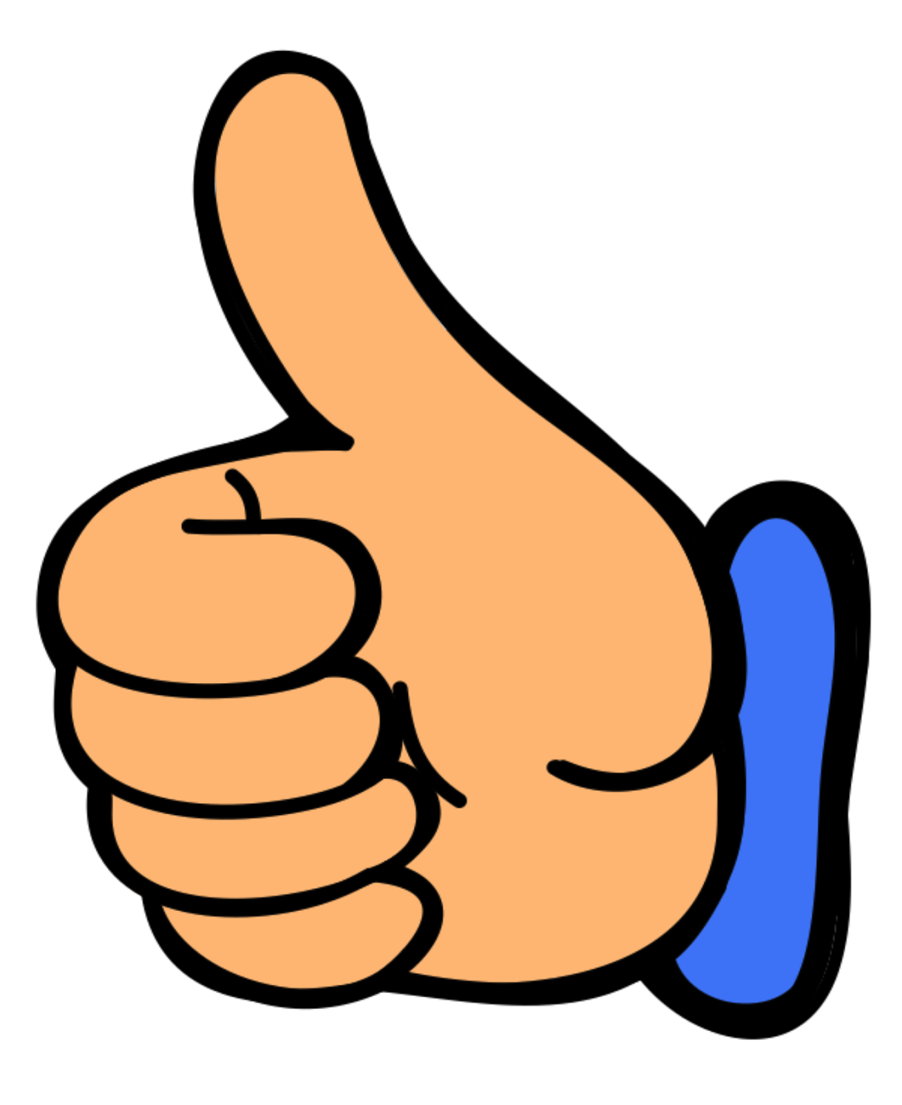 Thumbs up emoji png transparent. Why does a gesture