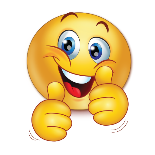 Thumbs up emoji png transparent. Cheer happy two