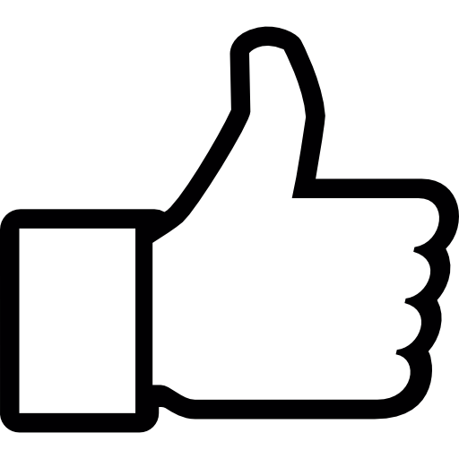 Thumbs up icon png. Thumb free social icons