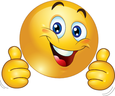 Thumbs up png emoji. Smiley face clip art