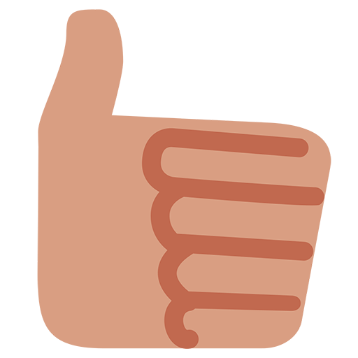 Thumbs up png emoji. Sign for facebook email