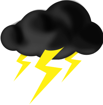 Thunder at getdrawings com. Thunderstorm clipart black and white library