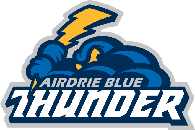 Thunder clipart blue thunder. Sr timbits airdrie minor