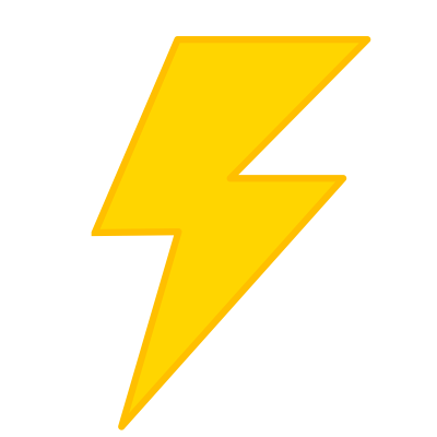Thunder clipart lightening bolt. Download lightning free png