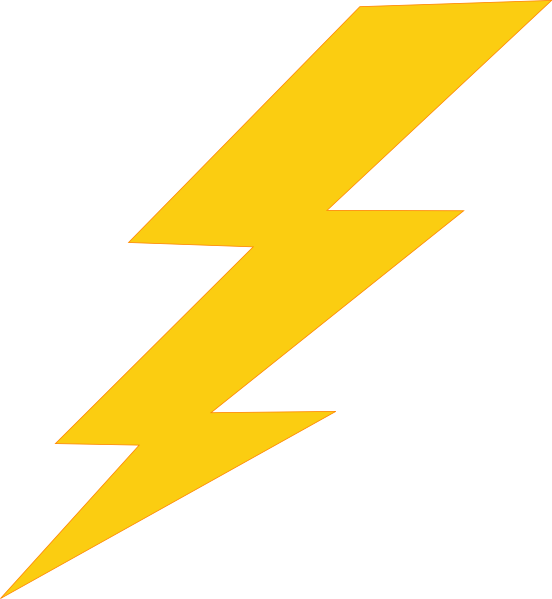 thunder bolt png