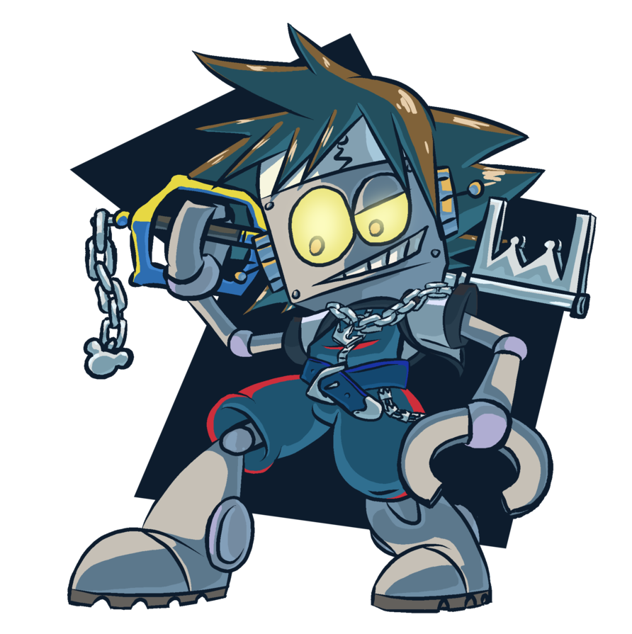 Thunderbolt drawing anime robot. Jones sora by oliviavanb