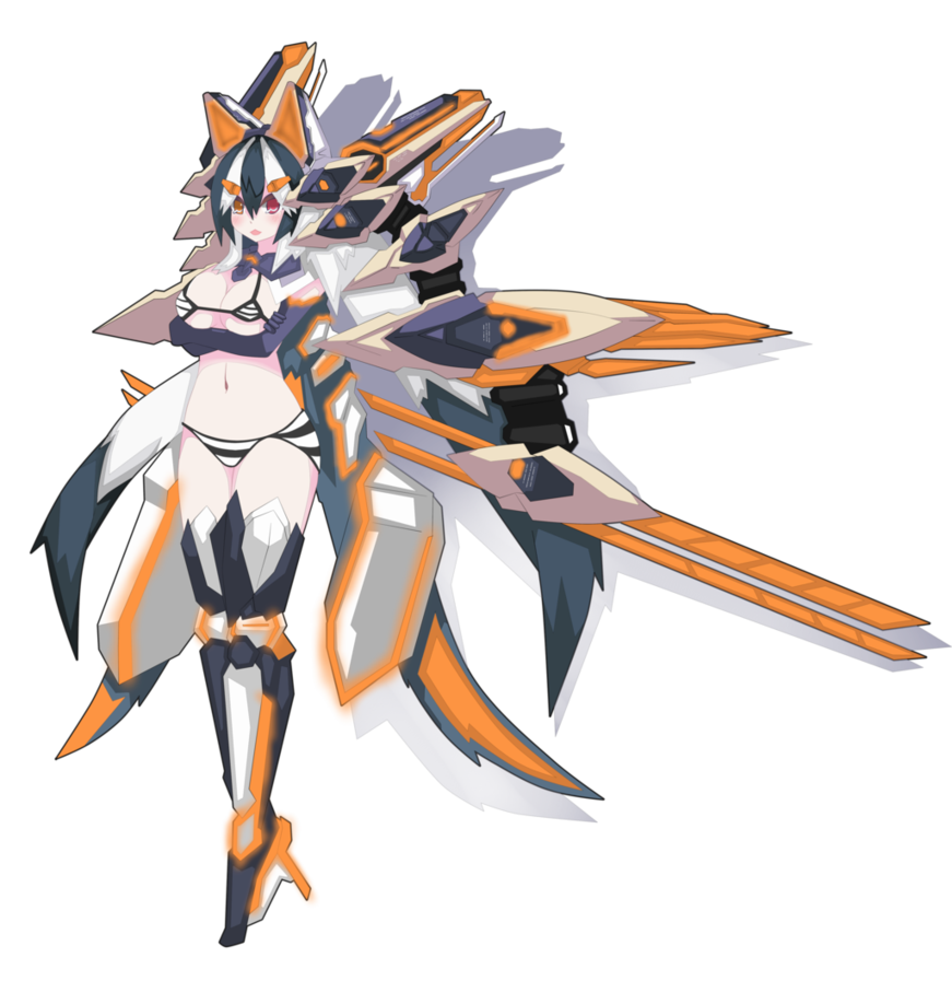 Thunderbolt drawing anime robot. Mecha female transprent png