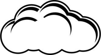 Thunderbolt drawing cloud. Outline at getdrawings com