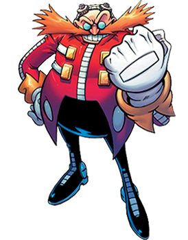 Thunderbolt drawing sonic the hedgehog. Doctor eggman archie news