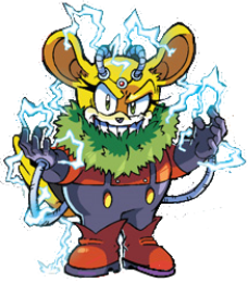 Thunderbolt drawing sonic the hedgehog. Chinchilla greatest characters and