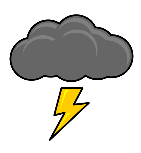 Cloud . Thunderstorm clipart picture freeuse stock