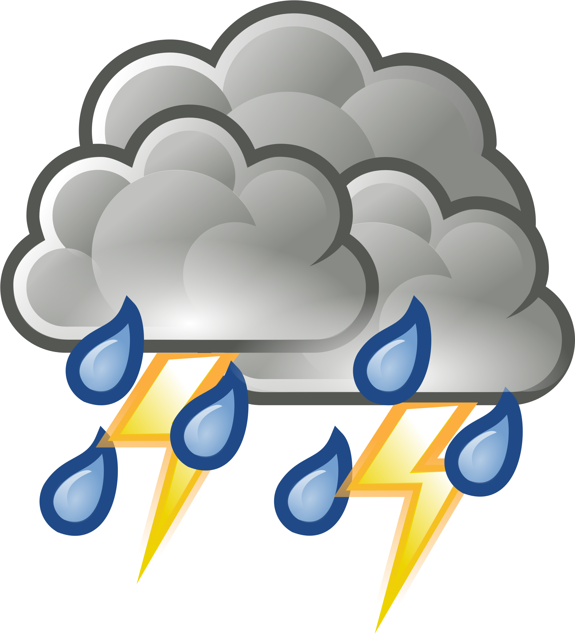 Thunderstorm clipart. Download file weather rain