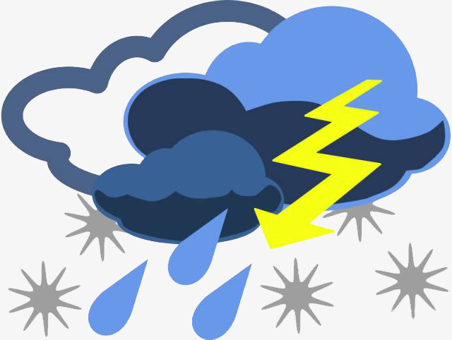 Thunderstorms thunder and lightning. Thunderstorm clipart banner free download