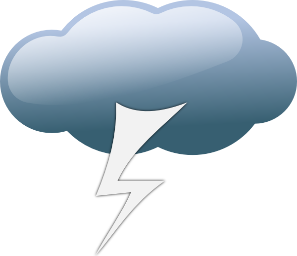 cloudy clipart thunderstorm cloud