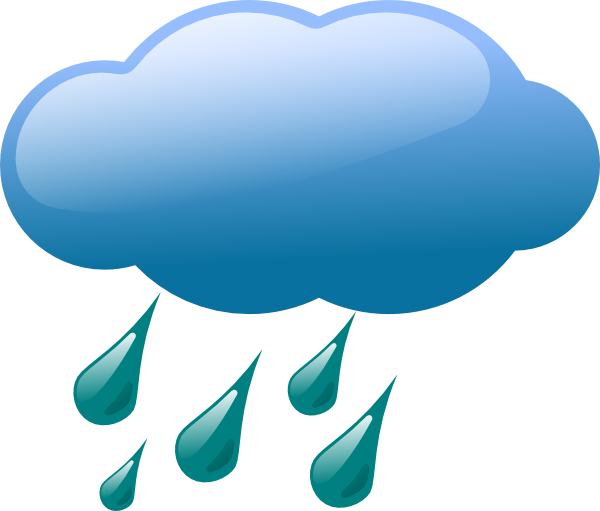 Thunderstorm clipart bad weather. Leader track signs rain