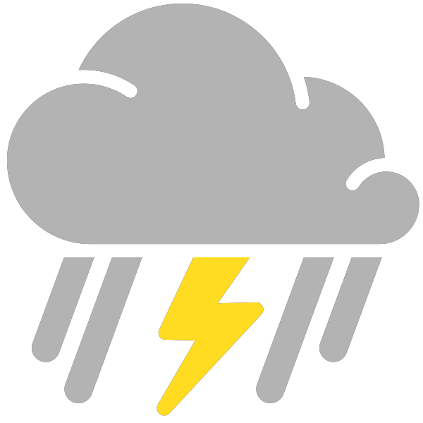 Thunderstorm clipart bad weather. Thunderstorms free download best