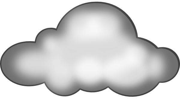 Thunderstorm clipart thundercloud. Cloud thunder free cartoon