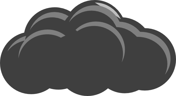 clouds clipart grey