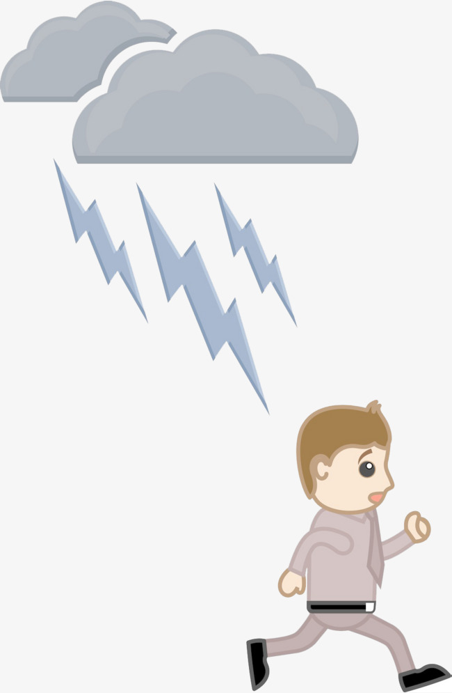 Thunderstorm clipart thunderstorm weather. Walking thunderstorms thunder and