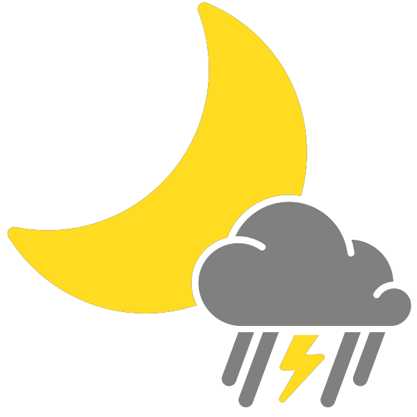 Snow svg weather icon. Simple icons mixed rain