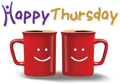 Funny good morning happy. Thursday clipart picture transparent