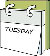 Tuesday clipart tuesday calendar. Search results for thursday