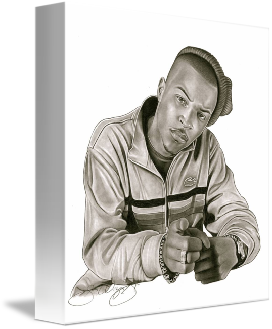 Ti drawing portrait. T i p aka
