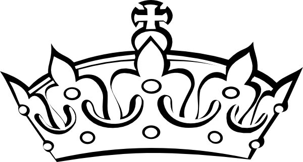 Image drawing crown. Free simple download clip