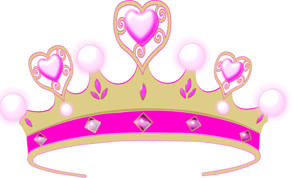 Pink princess crowns logo. Crown clip clip transparent