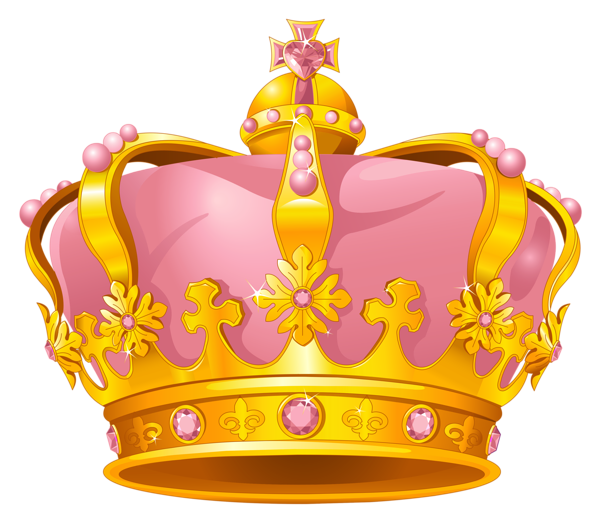 princess crown gold png