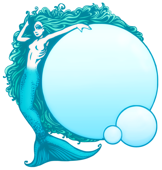 Mermaid clipart vintage. Free cliparts download clip