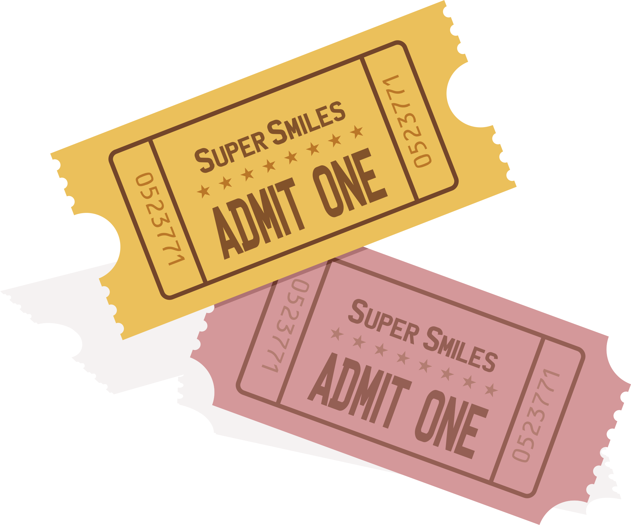 Event ticket png