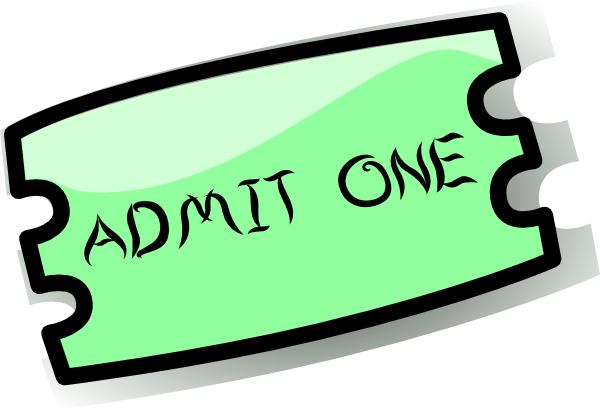Ticket clipart png. Clip art at clker