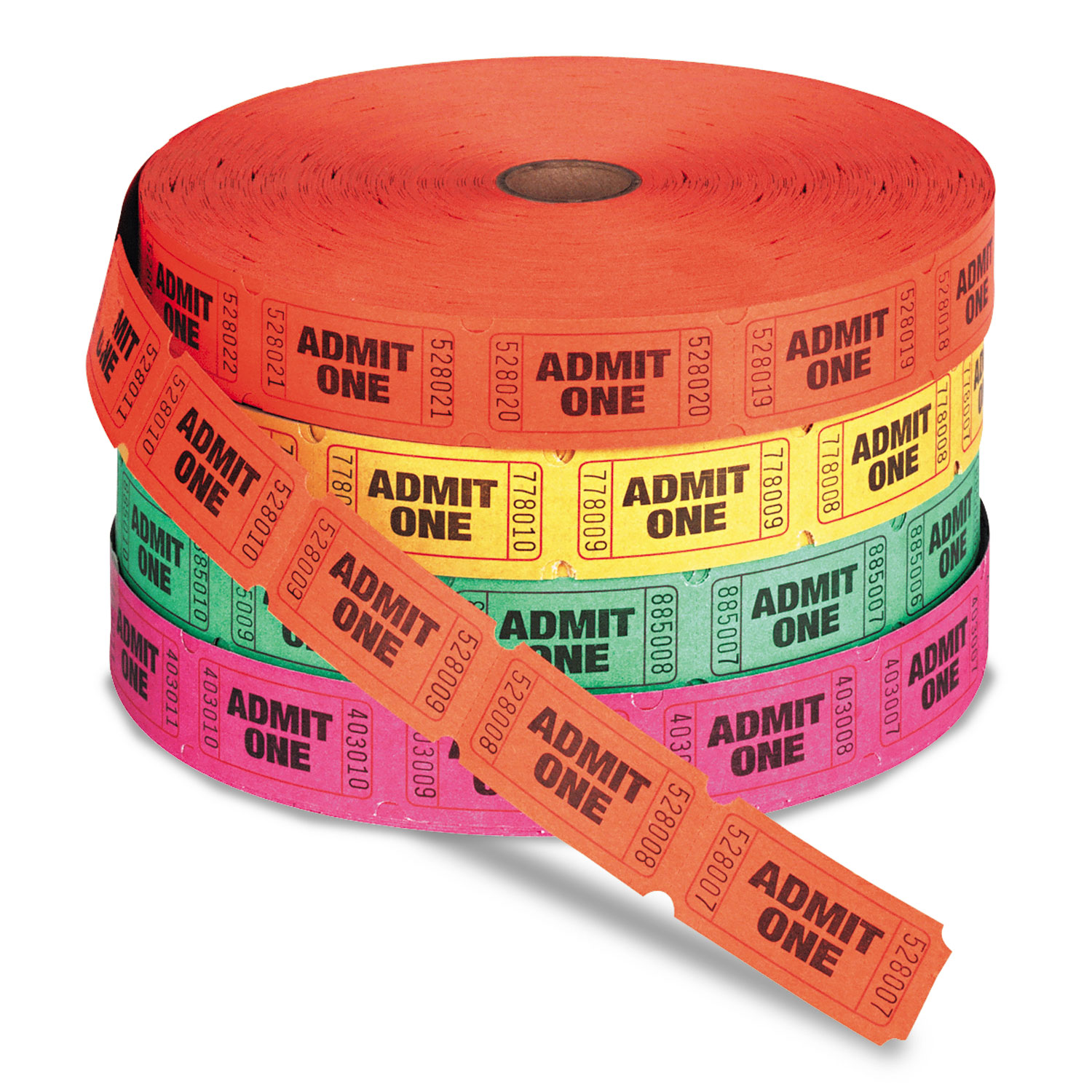 Ticket clipart roll ticket. Admit one single by
