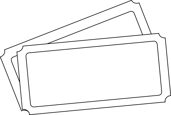 Ticket template png. Clip art at clker