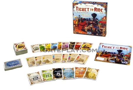 Ticket to ride logo png. The card game days