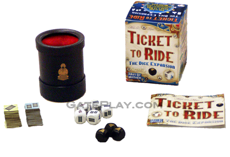 Ticket to ride logo png. The dice expansion days