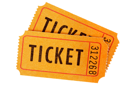 Tickets clipart transparent background. Ticket images png mart