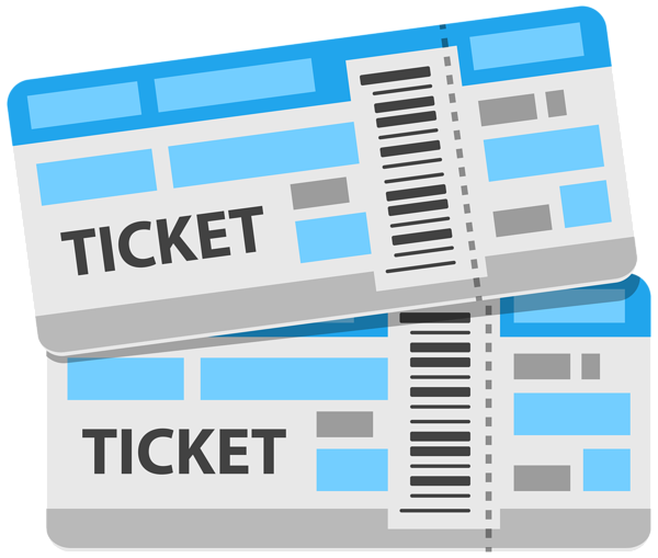 Tickets clipart transparent background. Png image gallery yopriceville