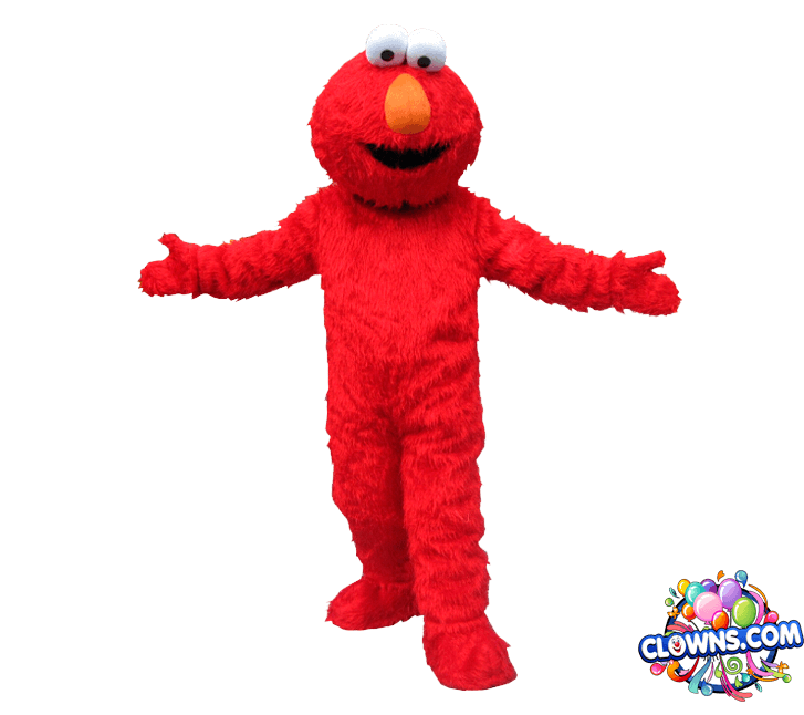 Tickle me elmo png. Character for kids party