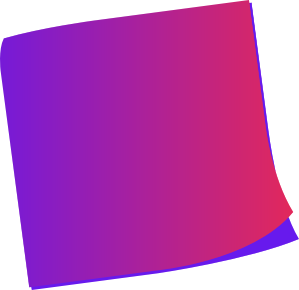 Postit vector red. Blue sticky note png