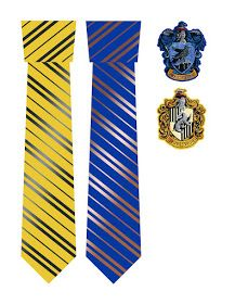 Tie clipart ravenclaw. Potter house ties hufflepuff