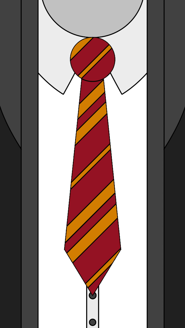 Tie clipart ravenclaw. Gryffindor lockscreens partially by