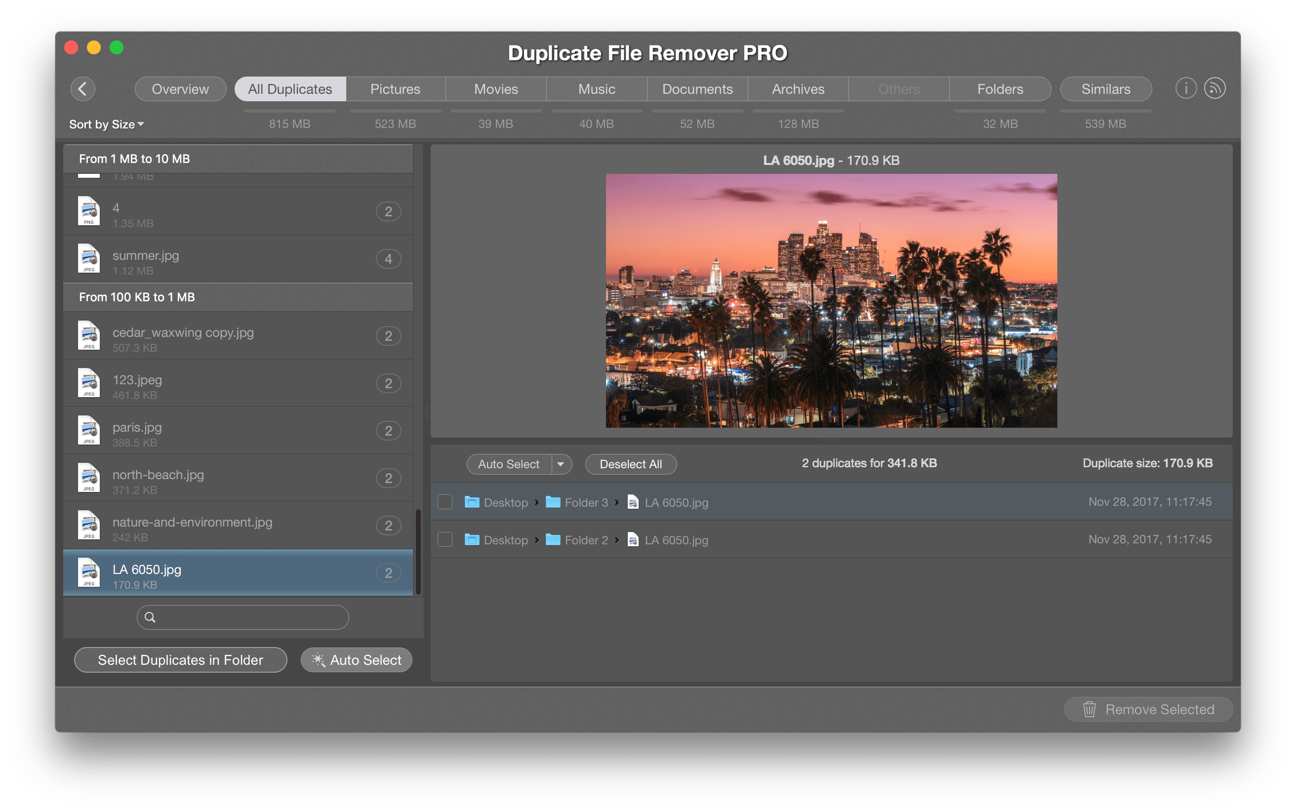 Tiff to png mac. How find duplicate files