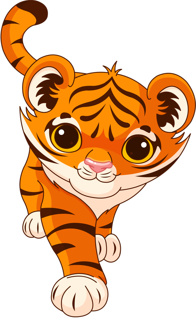 Tiger cartoon png. Pinterest clip art