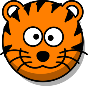Tiger clipart face. At getdrawings com free