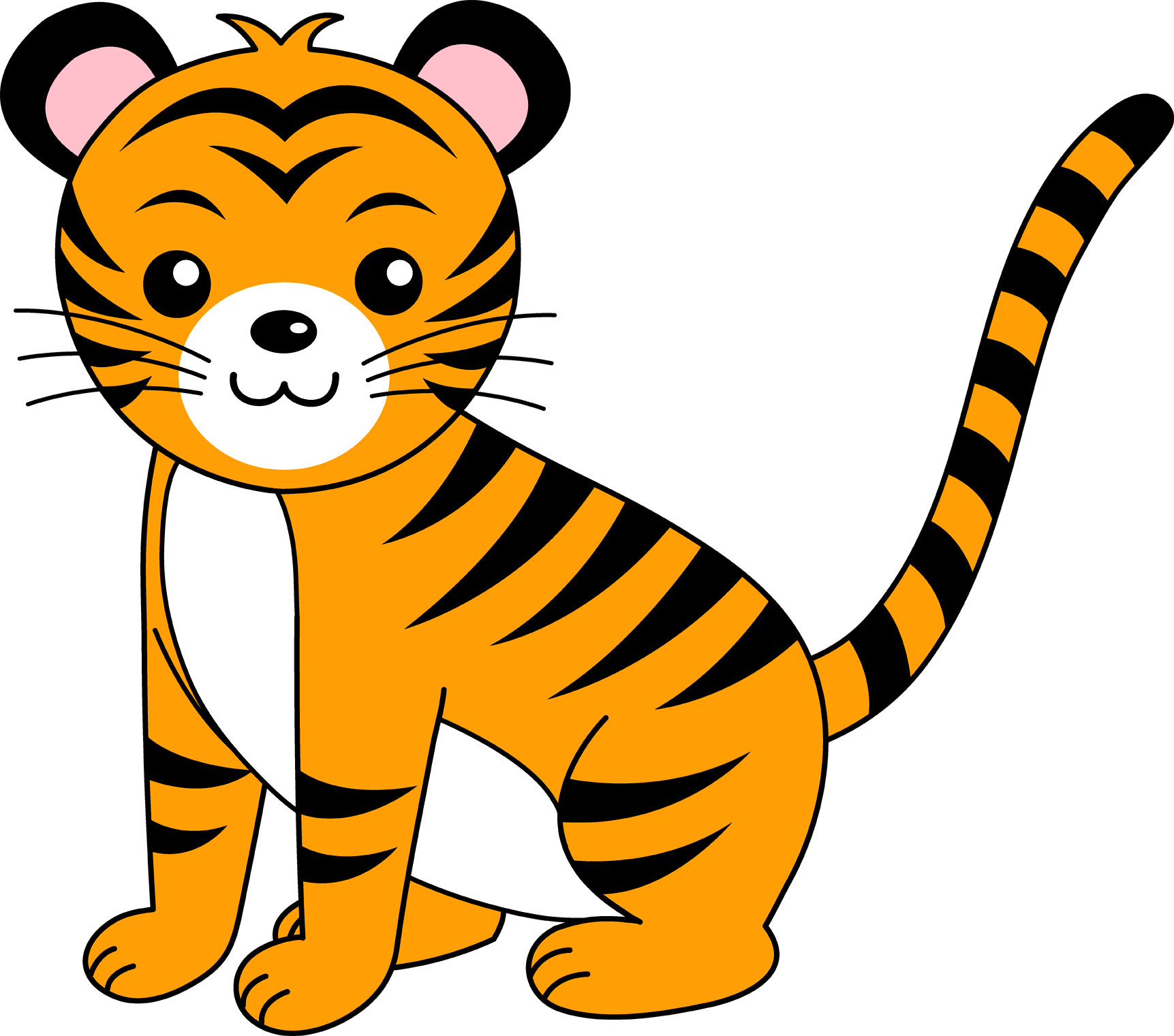 Tiger clipart png. Transparent images and free