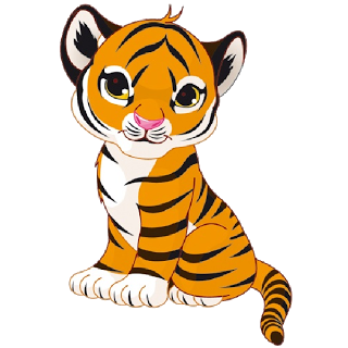 Tiger clipart transparent background. White cub pictures cubs