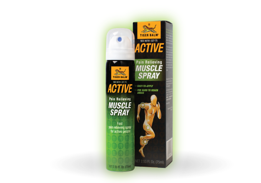 Tiger energy drink png. Balm active muscle spray