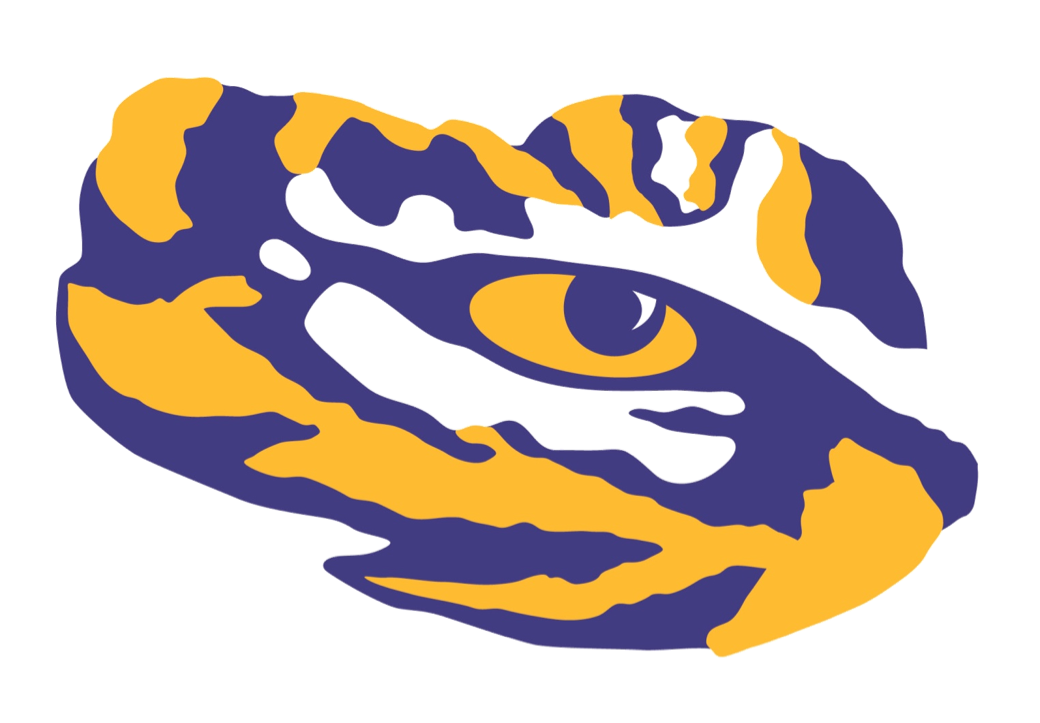 Louisiana svg geaux tigers